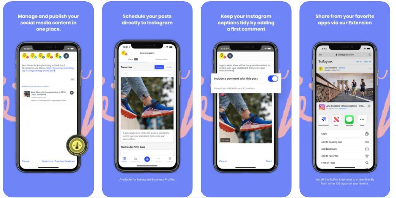 Buffer app screenshot