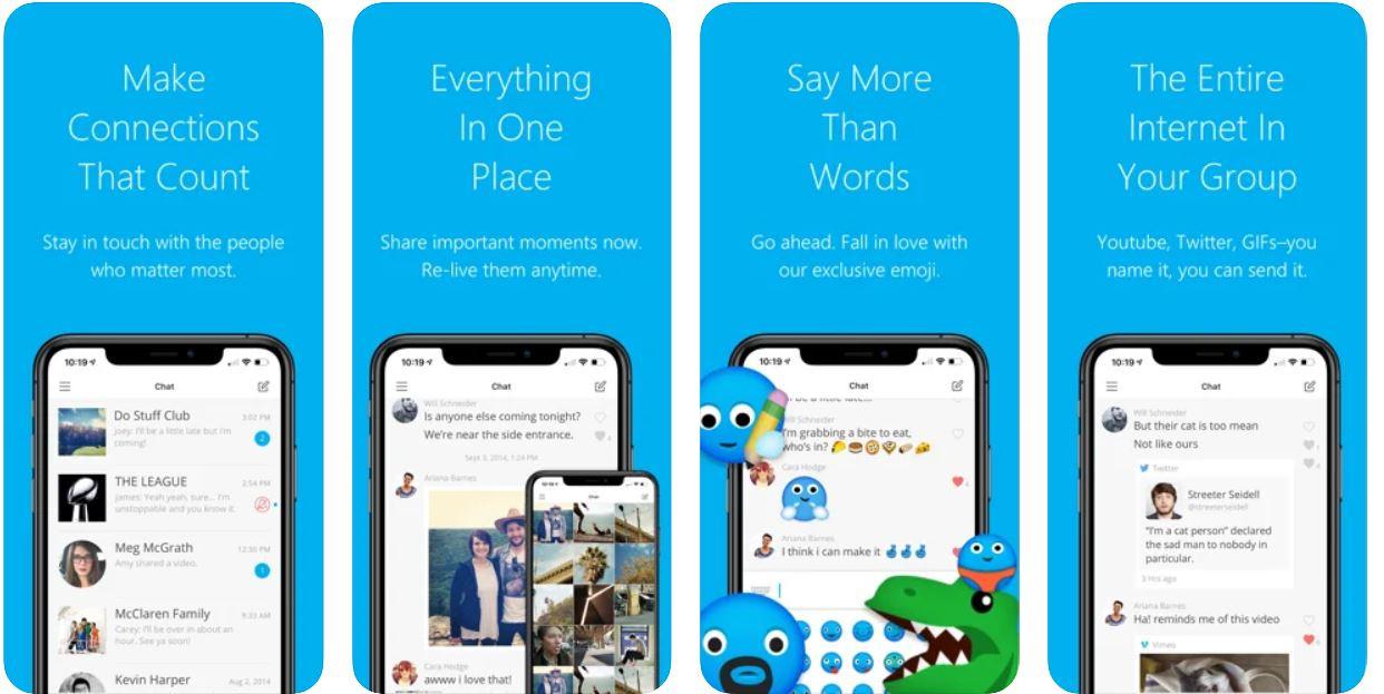 groupme app screenshot